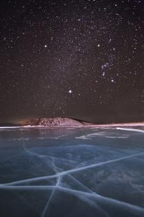 Звездное небо Байкала