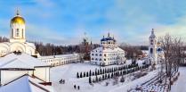 Николо-Сольбинский женский монастырь, панорама