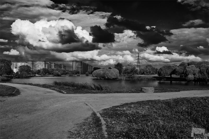 Проспект Славы. Парк