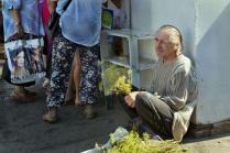 Продавец зелени