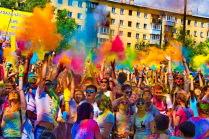 Фестиваль красок!