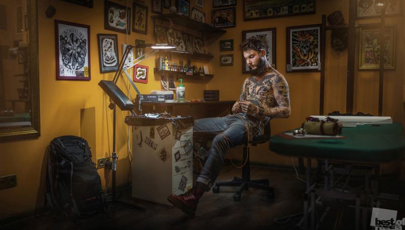 Татуировщик Михаил