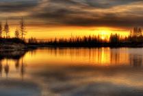 Северный закат