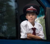 Машинист детской железной дороги