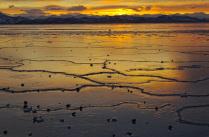 Закат в Авачинской бухте.