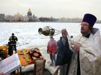 Крещение Невской купели