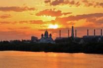 Николо-Угрешский Монастырь на закате