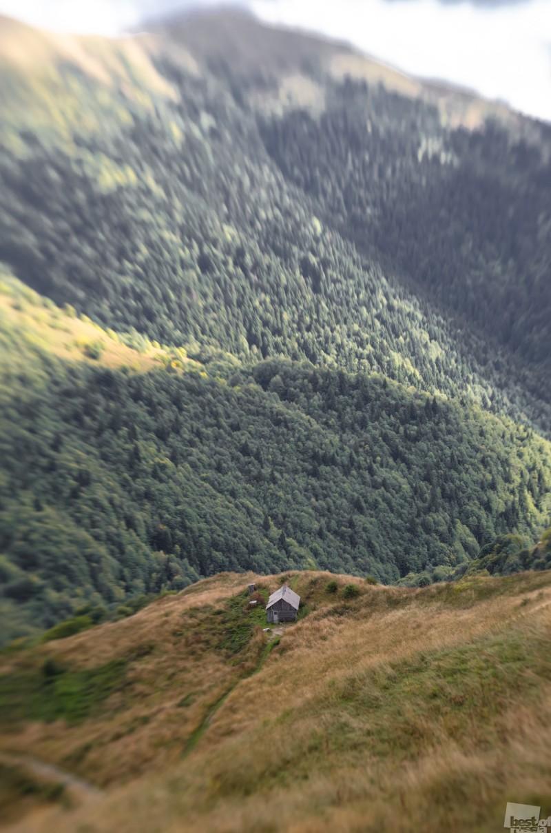 Высоко-высоко  в горах...