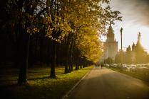 Осень в столице