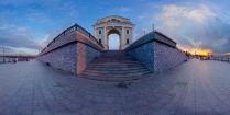 Московские триумфальные ворота. Иркутск