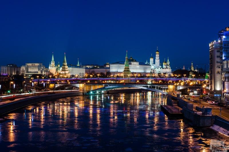 Морозный вечер в Столице