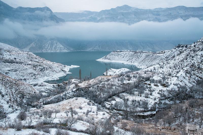 Зимний Дагестан.