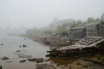 Раннее туманное утро