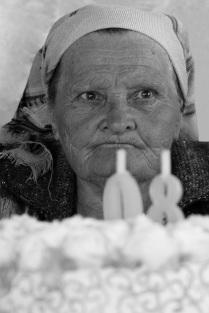 У старости не старое лицо