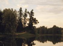 вечер в Екатерининском парке.