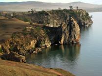 Остров Ольхон на закате
