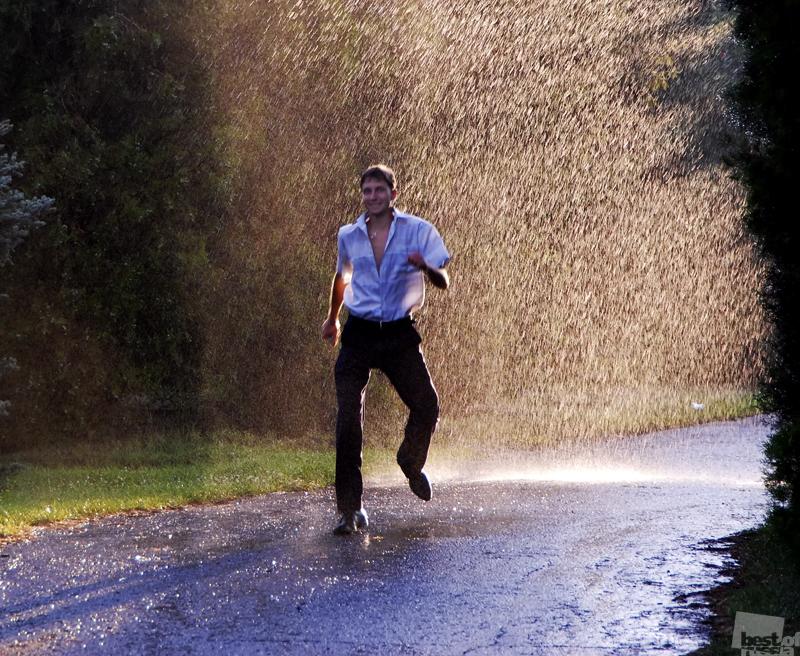 Ребята, дождь начинается!