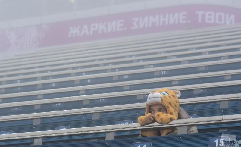 В Сочи сново туманно