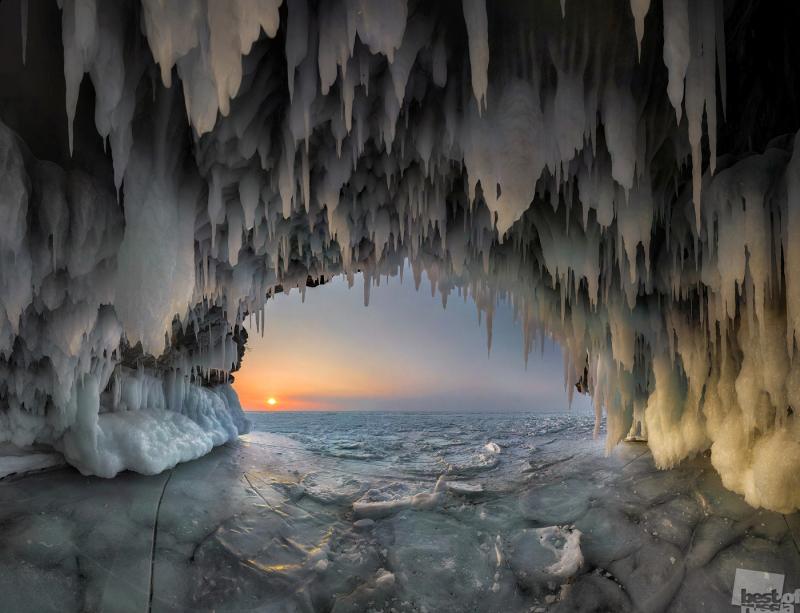 Потолок ледяной....