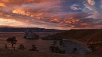 Sunset on Olkhon
