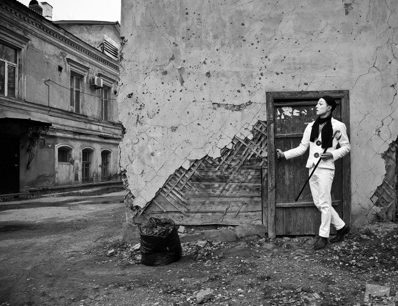 Пьеро на улице Алексеевской