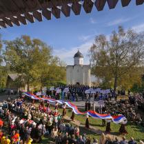 Фестиваль в Старой Ладоге