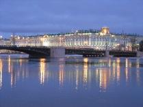 Северное сияние Зимнего дворца
