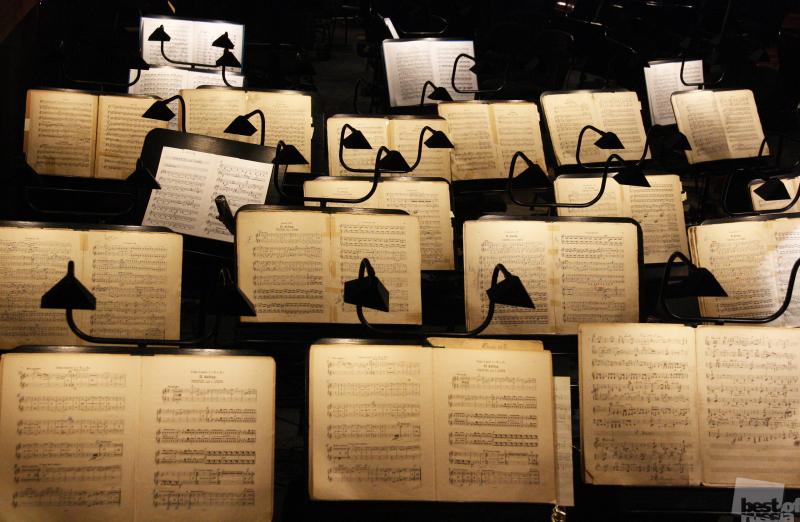 Оркестровая яма Мариинки