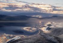 ...Волны озера Дюпкун...
