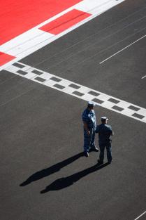 Финиш трассы Формулы-1