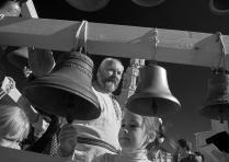 На колокольном фестивале