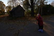 Осень в Изборске