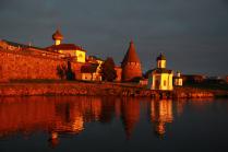 Закат над монастырём