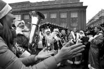 флешмоб дедов Морозов