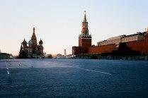 Пустая Красная Площадь