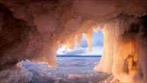 Ледяная пещера, Ольхон, Байкал
