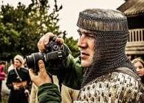 Человек с фотоаппаратом
