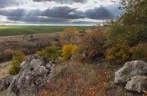 Октябрь идет по степи