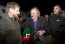 Жерар Депардье снимает фильм в Чечне
