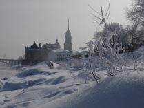 Зимний Рыбинск