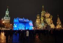 Новый год на Красной площади 2009