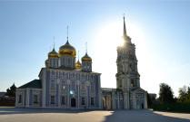 Тульский Кремль и солнце