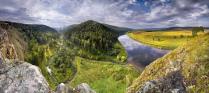 На реке Юрюзань