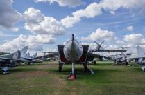 Самолет МиГ-25 в Музее ВВС