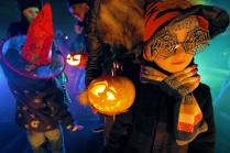 Разноцветный Хеллоуин