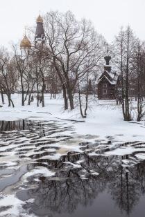 Зима в Сестрорецке