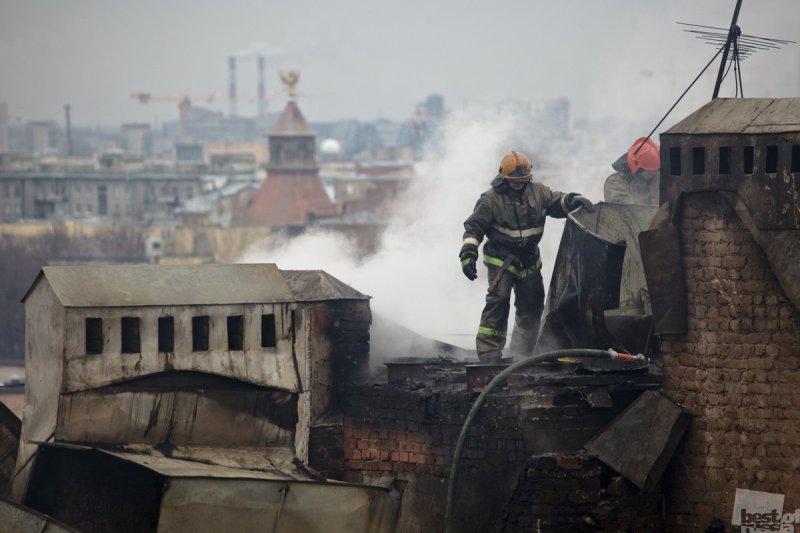 Пожар на Греческом проспекте