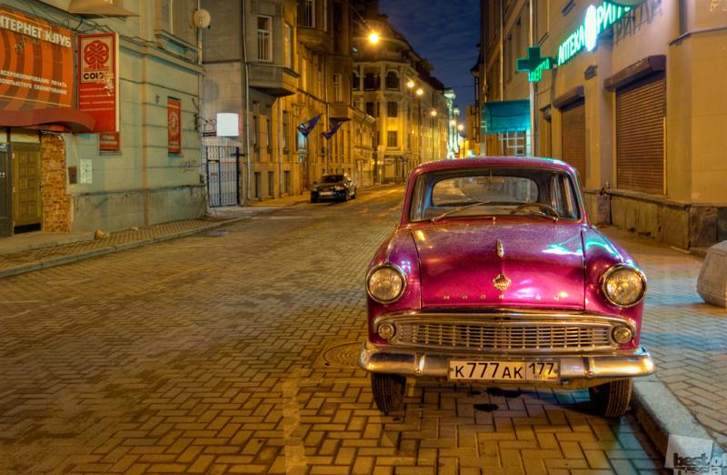 Старый москвич