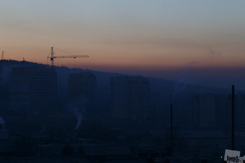 Утро сквозь смог
