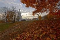Осенний вечер в Коломенском